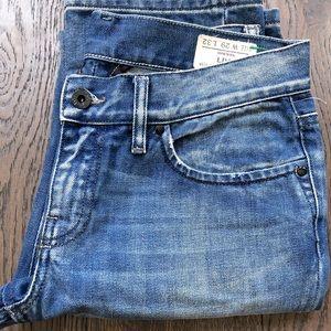 Diesel Industry Liv Straight Leg Distressed Jeans